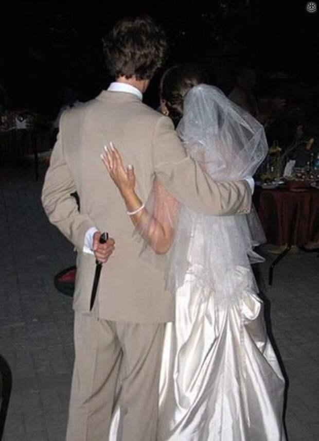 Прикольные свадебные торжества 6