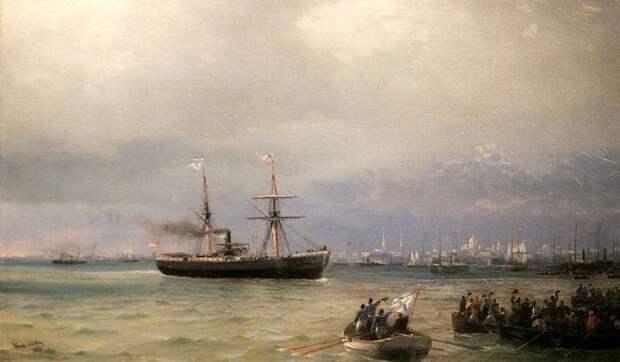 Под звёздно-полосатым флагом. «Флот голода» плывёт в Россию