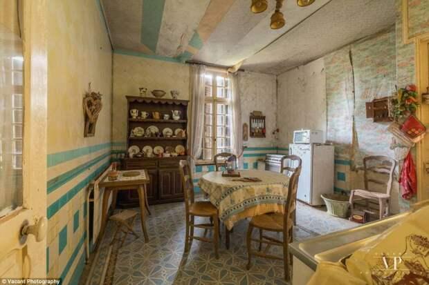 Прогулка по таинственному французскому особняку