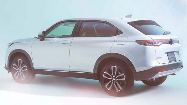 Honda презентовала в Европе кроссовер HR-V третьего поколения
