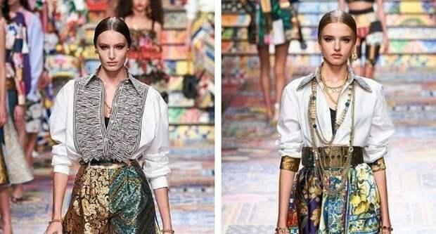 Одежда в стиле пэчворк — модная тенденция 2021