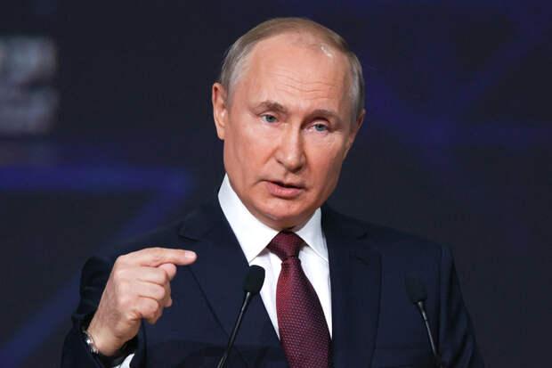 О самой отчаянной ставке Владимира Путина