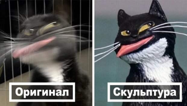 Это надо видеть: 50 забавных фигурок животных на основе интернет-мемов