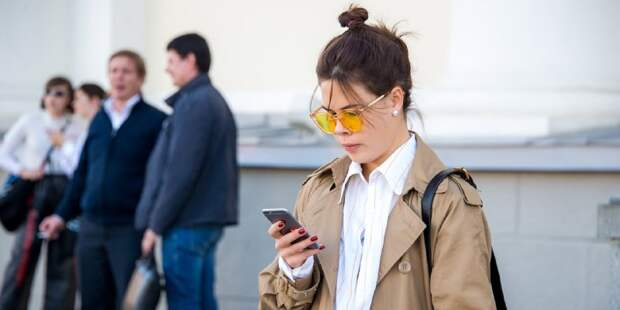 Сергунина: Москвичи стали чаще использовать смартфоны для ежедневных задач