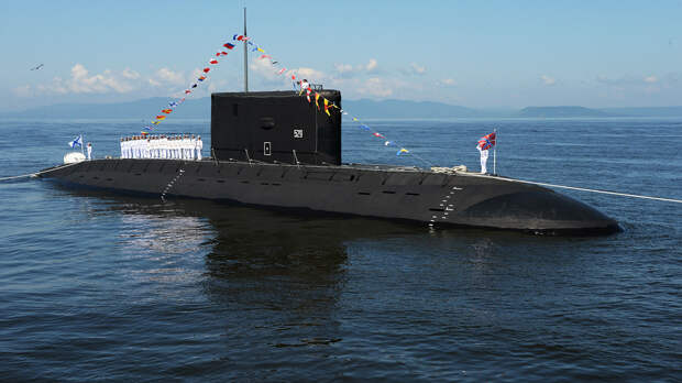 Подводная лодка класса Варшавянка - РИА Новости, 1920, 07.09.2020