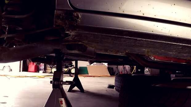 Восстановление порогов на Honda Civic