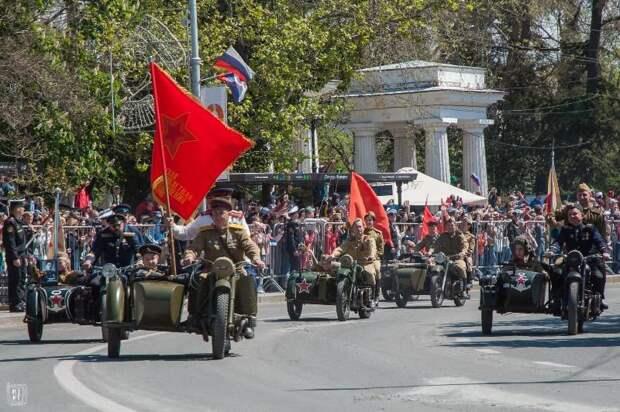 В Севастополе состоялся Парад Победы