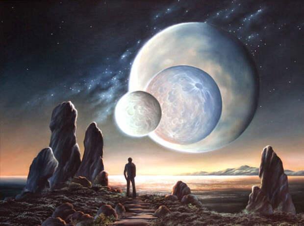 Жизнь в далеком космосе