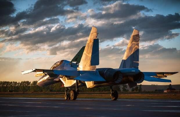 «Железный орел»: в США высоко оценили российский Су-34