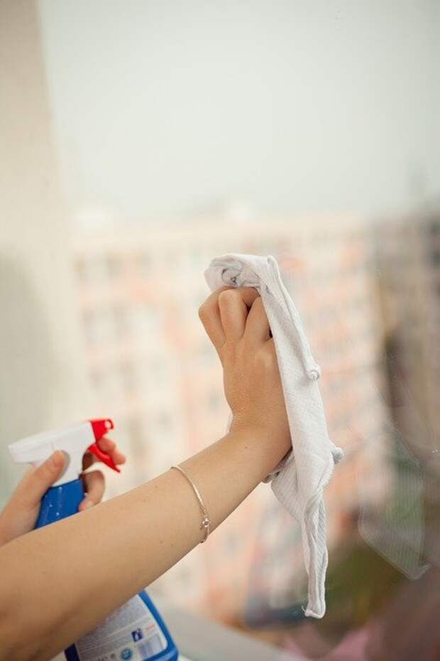 Женщина, Окно, Очистка, Лица, Женщины, Работа По Дому