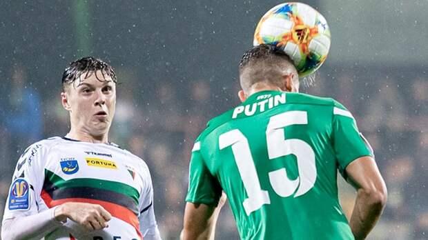 Украинский футболист Путин может перейти в белорусский «Неман». Он находится на просмотре