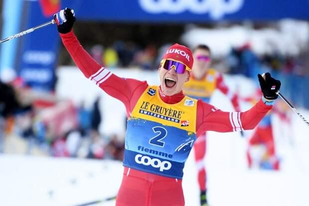 Большунов против всей Норвегии. Российский гонщик завоевал в Оберстдорфе первое золото для России!