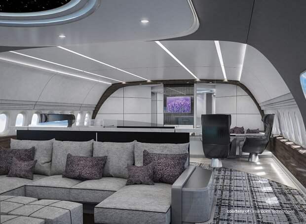 Boeing собрал фюзеляж прототипа 777-9 и представил его VIP-концепт