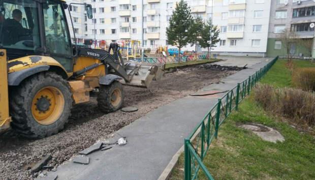 В мэрии рассказали, какие дворы Петрозаводска начали ремонтировать