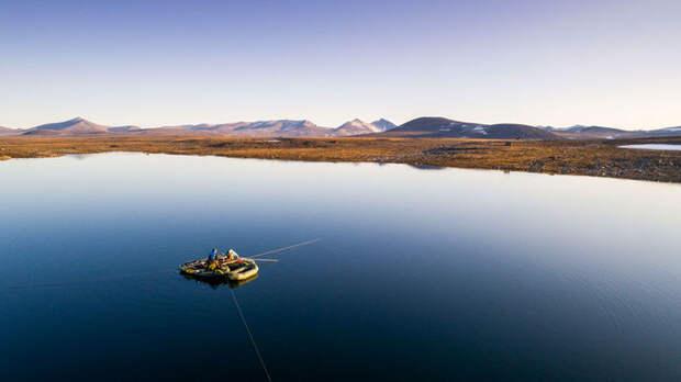 Арктическое озеро хранит ДНК экосистемы, окружавшей его 125 000 лет назад