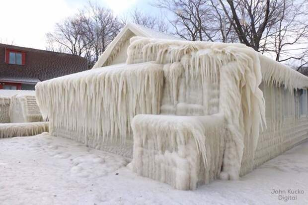 Что ветер и мороз могут сделать с домом за 5 дней