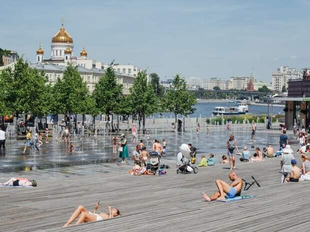 Рекордная жара за всю историю метеонаблюдений ожидается во вторник в Москве