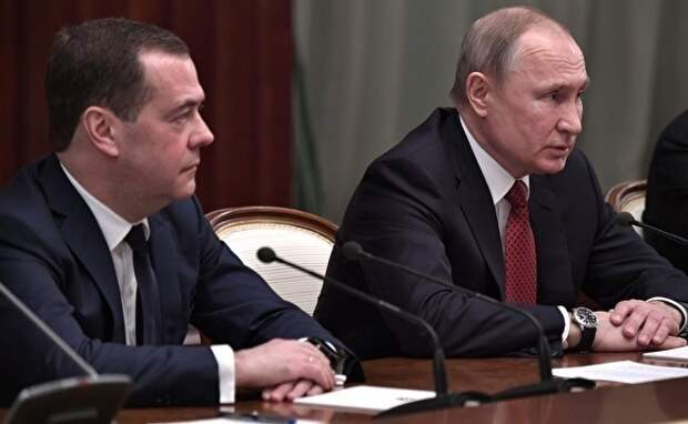 Путин определил обязанности Медведева на посту зампреда Совбеза