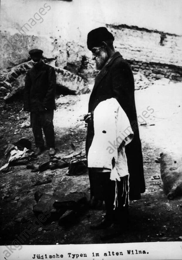 Jьdische Typen in Wilna / 1915 - Jewish people in Wilna / 1915 -