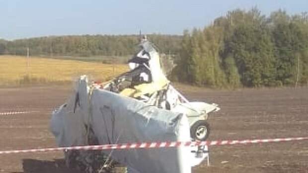 Названа возможная причина крушения легкомоторного самолета в Татарстане