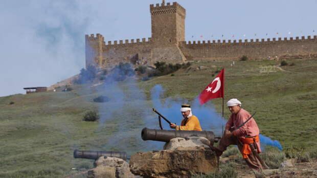 В Музее-заповеднике «Судакская крепость» состоялась историческая реконструкция