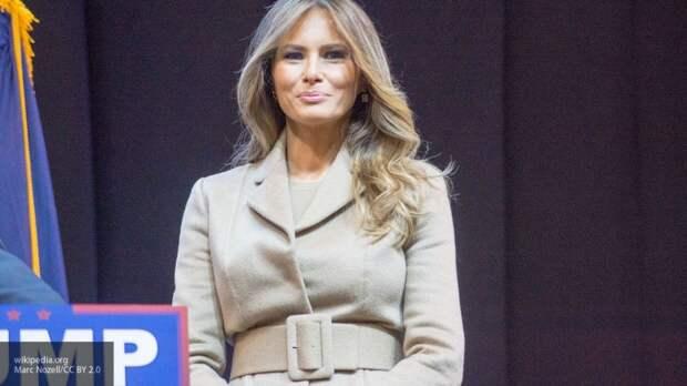 """СМИ назвали """"броней"""" наряд Меланьи Трамп на Республиканском съезде"""