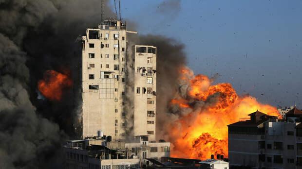 В секторе Газа заявили о 67 погибших от авиаударов Израиля