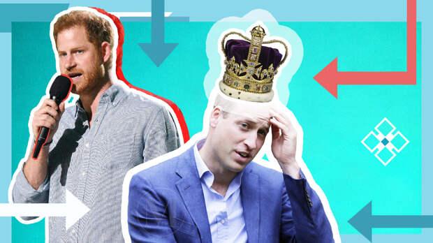 Уильям и Гарри: два принца — два совершенно разных подхода к счастью