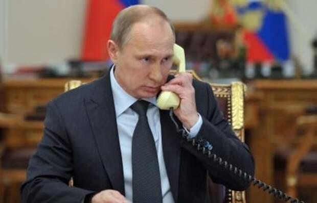 Путин обсудил с генсеком ООН борьбу с COVID-19 и конфликт на Ближнем Востоке