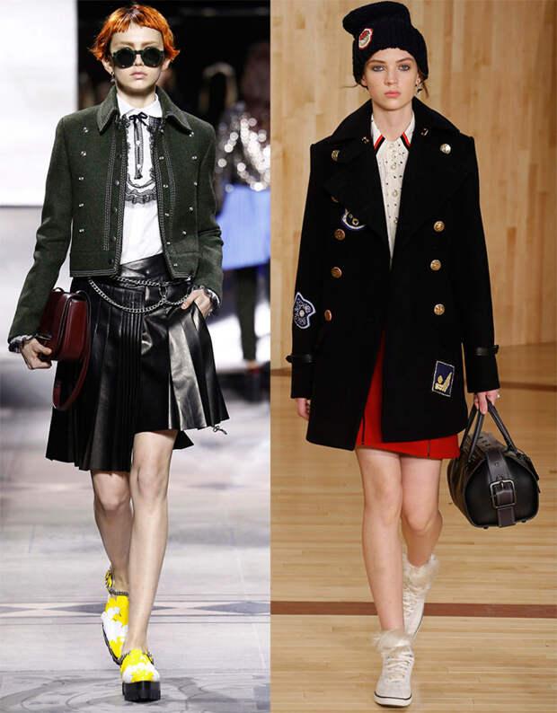 тенденции моды осень-зима 2016-2017