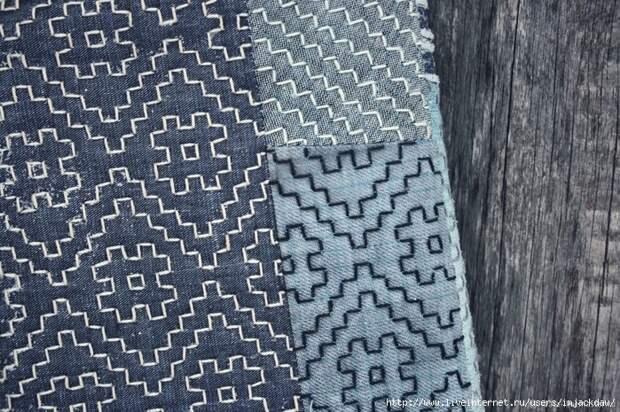"""Японские заплатки или """"Boro"""" в дизайне одежды 4"""