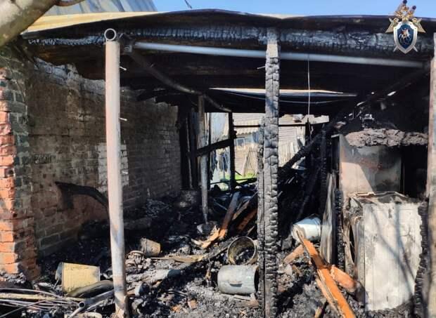 СК возбудил уголовное дело по факту гибели бабушки с внуком при пожаре в Сарове
