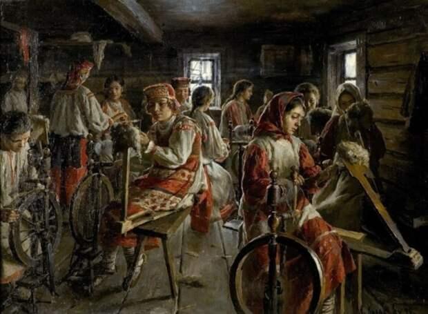 В не ругательном значении швалью называли женщин-портных. |Фото: ok.ru.
