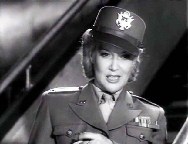 Джанет Шервуд. Встреча на Эльбе, 1947, Любовь Орлова. СССР, злодейка, кино