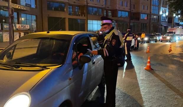 17 пьяных водителей остановили полицейские засутки вТюмени