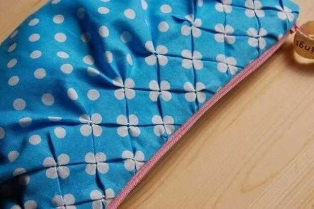 Новый взгляд на буфы из ткани - милейший результат