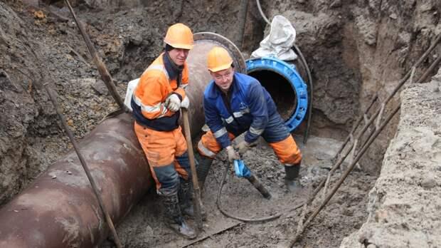 Водоснабжение восстановили вцентре Ростова после аварии