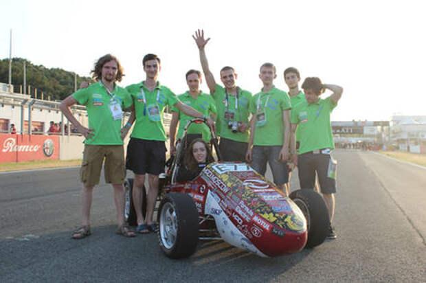 Российская команда получила приз на Формуле Студент