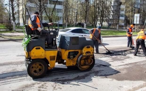 За неделю в Рязани заделали ямы на 16 улицах