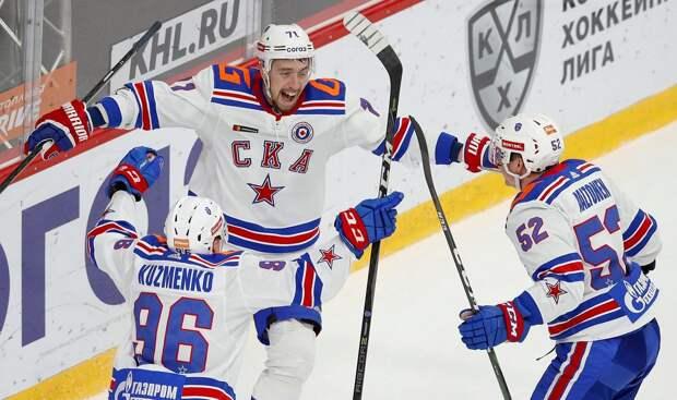 Хет-трик Галимова принес СКА победу над «Авангардом»