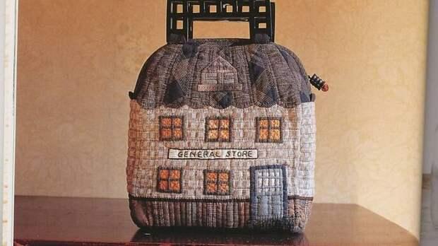 Японский пэчворк - теплые домики из ткани любят все. Вдохновляемся на создание собственных шедевров