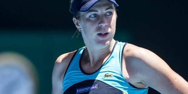 Теннисистка Павлюченкова прошла в полуфинал турнира