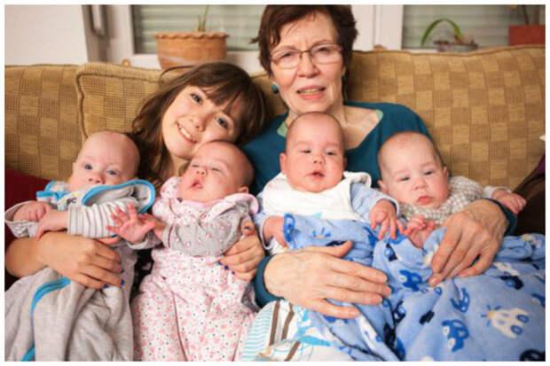 """Во-первых у женщины уже на тот момент было 13 детей, от пяти разных отцов. """"Так получилось"""", сказала Аннагрет в одном из интервью. бывает же такое, дети, жизнь, истории, маты, удивительное"""