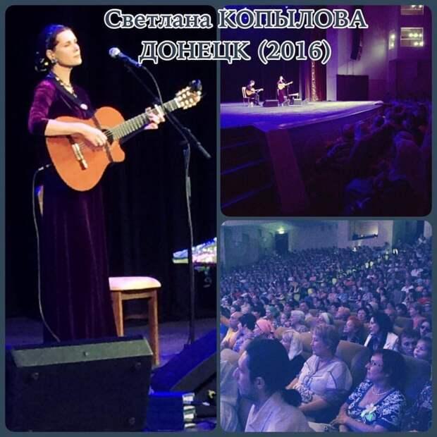 Севастопольский кандидат в депутаты Госдумы РФ организовал концерты известной исполнительницы (фото)