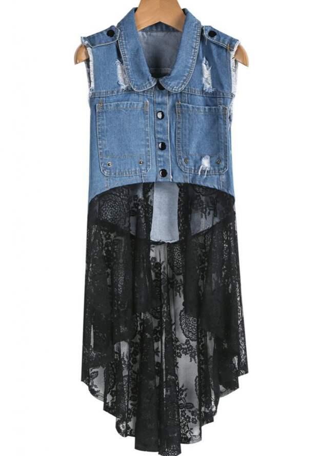 Удлинение одежды