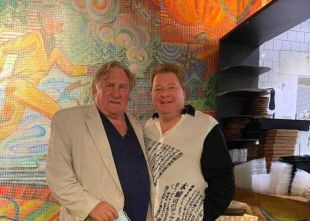 Денис Иванов и Жерар Депардье откроют ресторан в Новосибирске