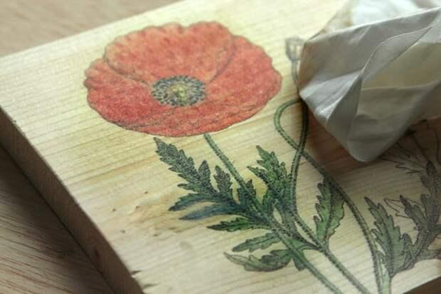Девушка искусница соединили доску и вощеную бумагу: крутая идея, достойная повторения