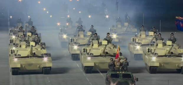 Новый северокорейский танк