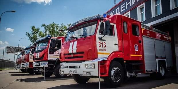 Пожар в подъезде дома на Менжинского ликвидировали до прибытия спасателей