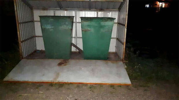 На Урале на 4-летнюю девочку обрушилась часть контейнерной площадки